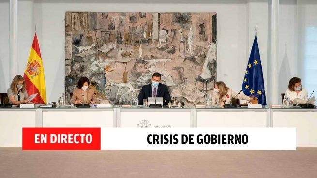 Pedro Sánchez renueva su Gobierno: comparecencia y remodelación de los nuevos ministros en directo