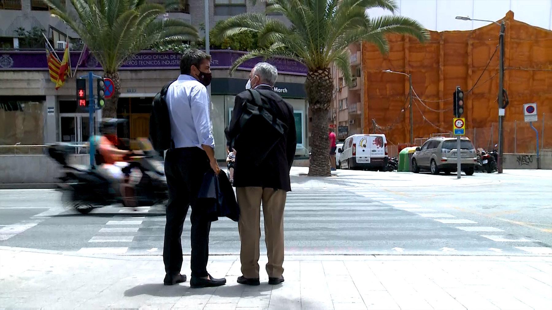 Manuel Cerdán y Carlos Mazón