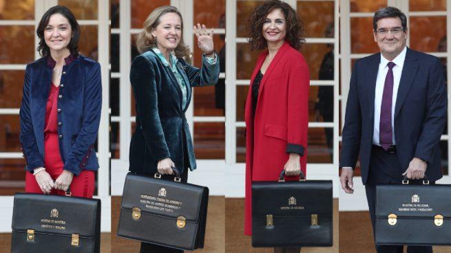 Ministros económicos de Pedro Sánchez.