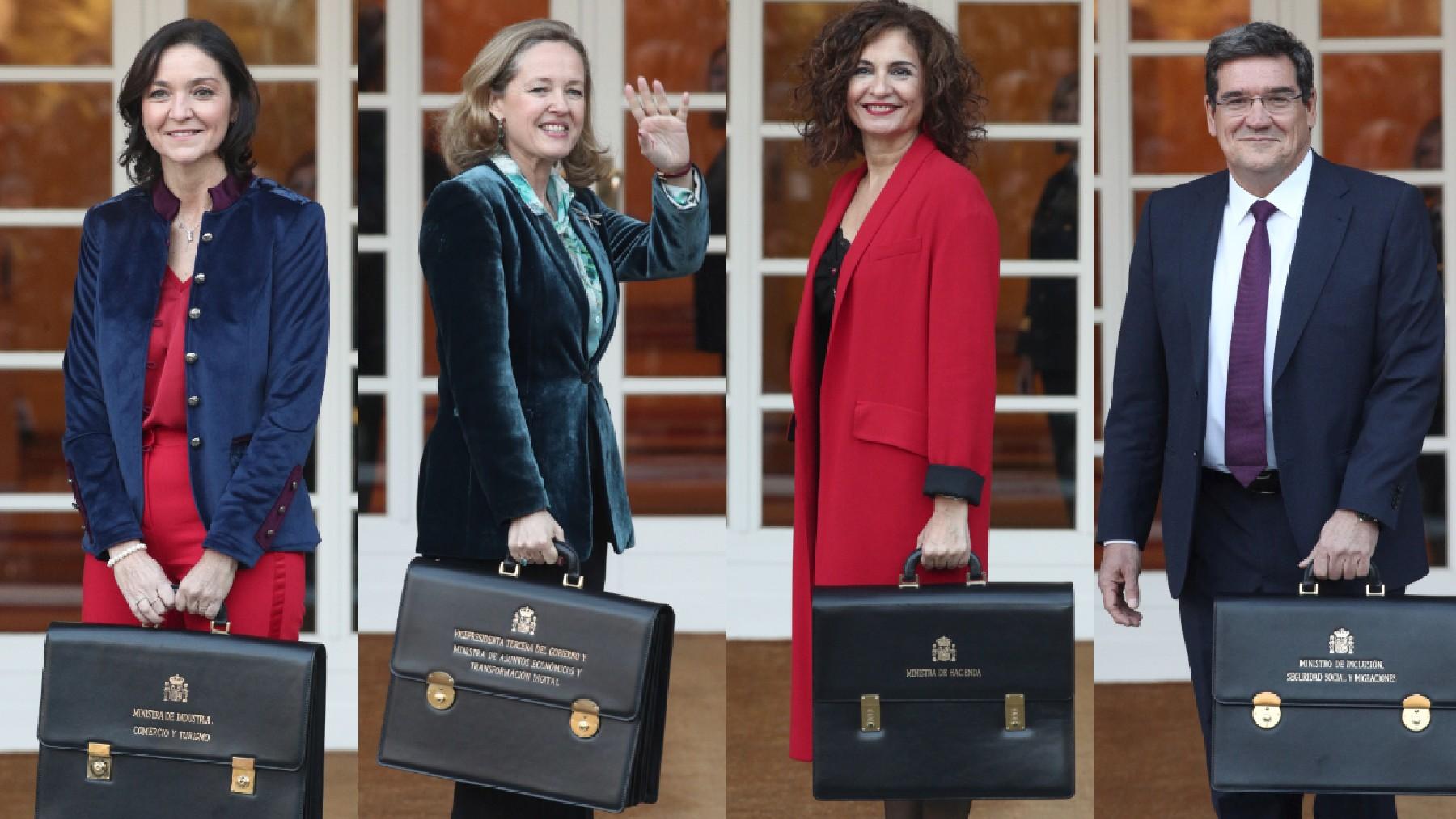 Ministros económicos.