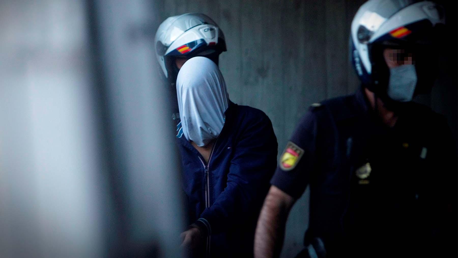Uno de los detenidos por el asesinato de Samuel (Foto: EFE).