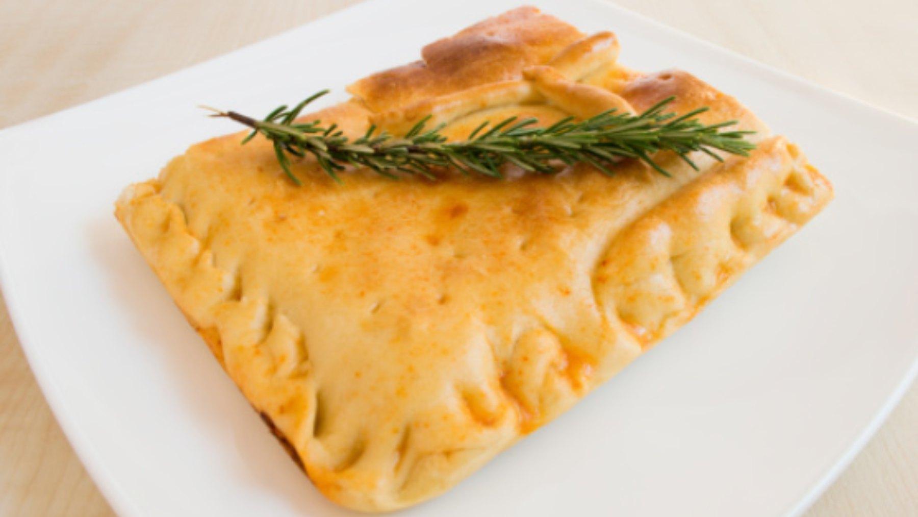 Empanada carbonara, receta rápida y fácil de preparar