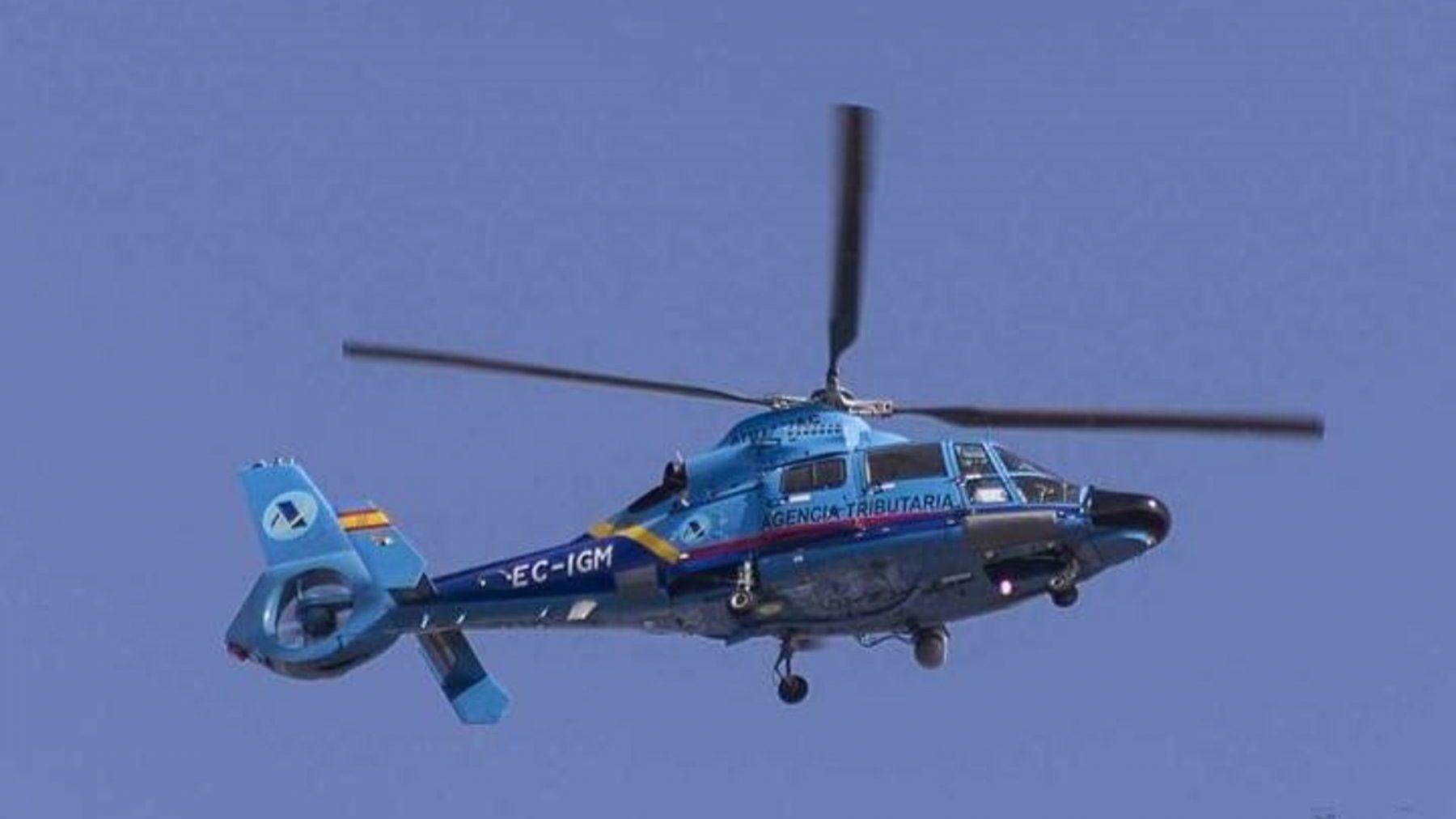 Helicóptero de Aduanas / vigilancia aduanera (ADUANAS).