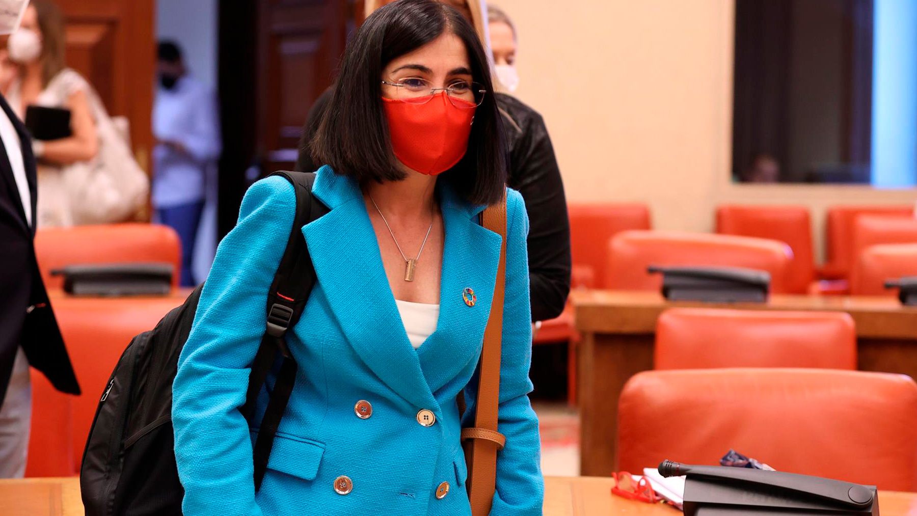 La ministra de Sanidad, Carolina Darias. Foto: EFE