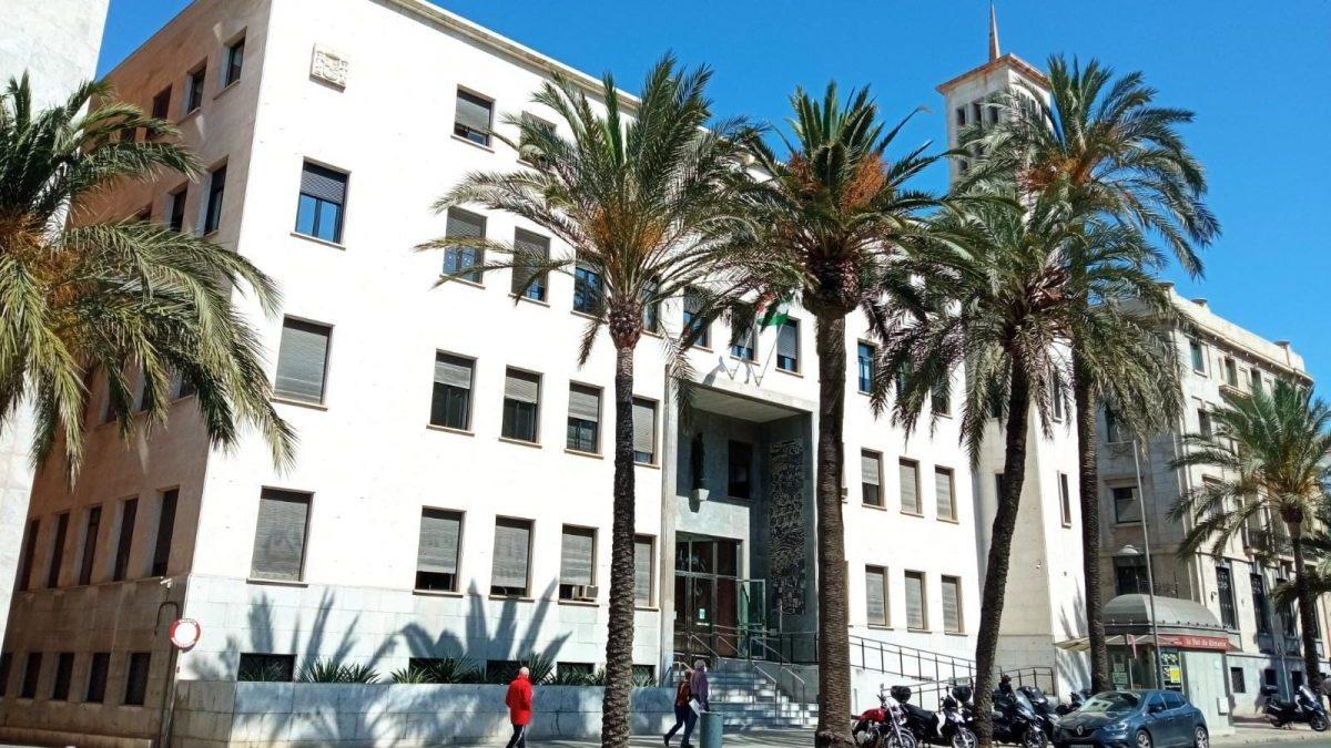 Sede de la Audiencia Provincial de Almería (EUROPA PRESS).