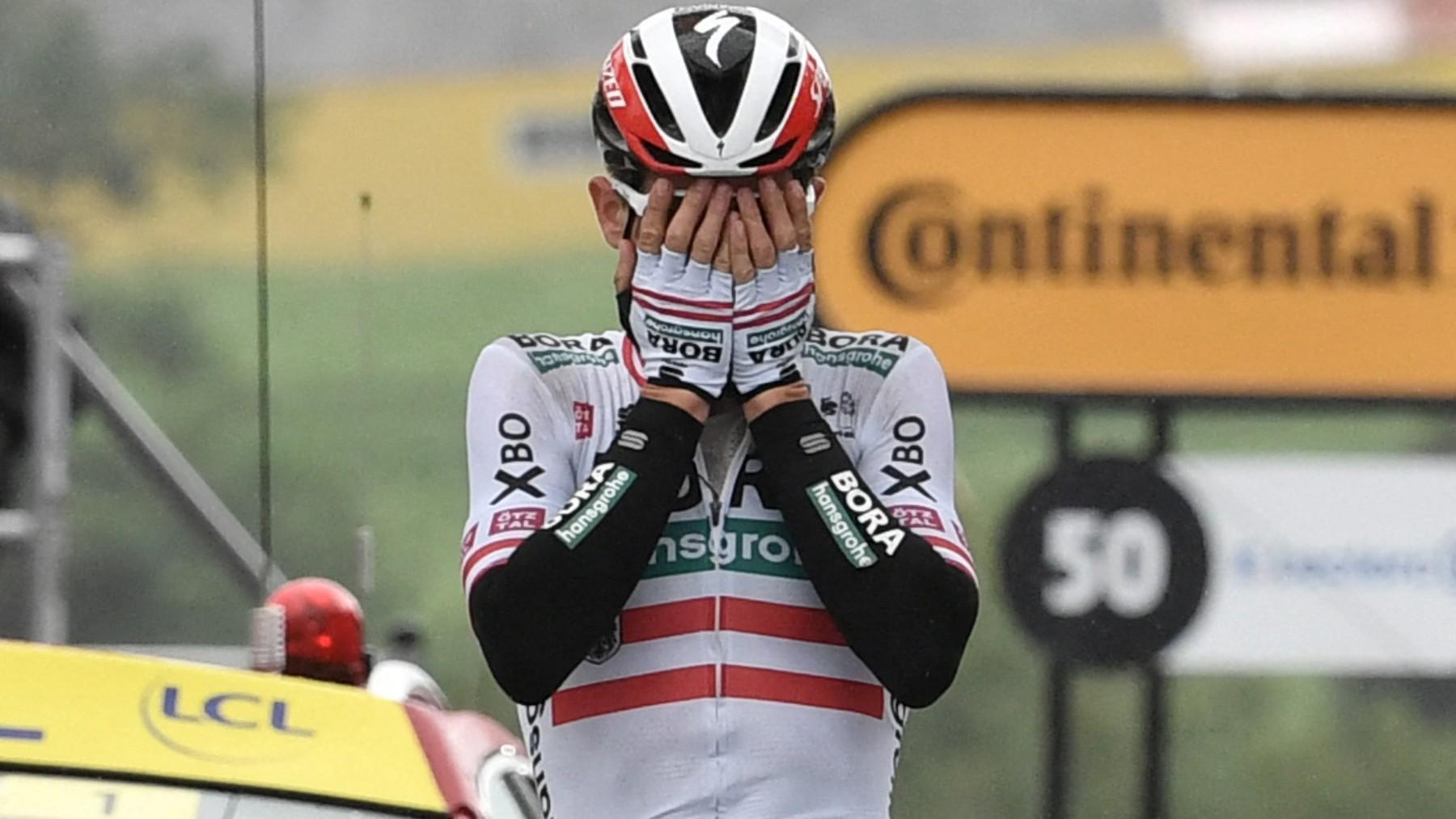 Konrad ganó la etapa del Tour de Francia. (AFP)