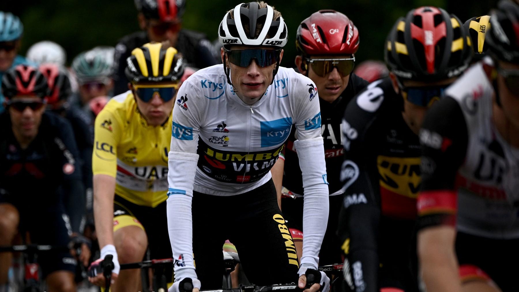 Tour de Francia 2021: clasificación de la etapa de hoy, martes 13 de julio. (AFP)
