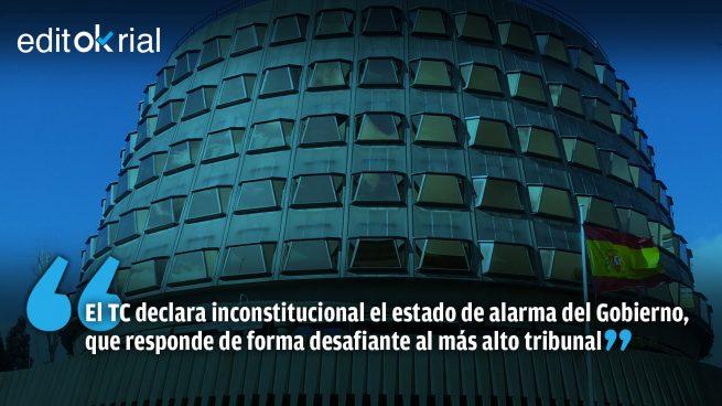 Intolerable desafío del Gobierno al Tribunal Constitucional