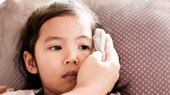 fiebre en los niños cómo bajarla