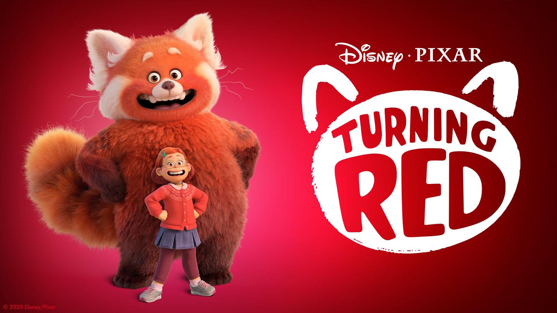 «Turning red» (Disney/Pixar)