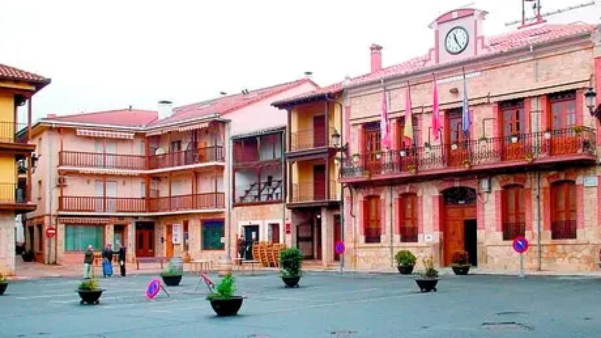 Localidad de Candeleda.