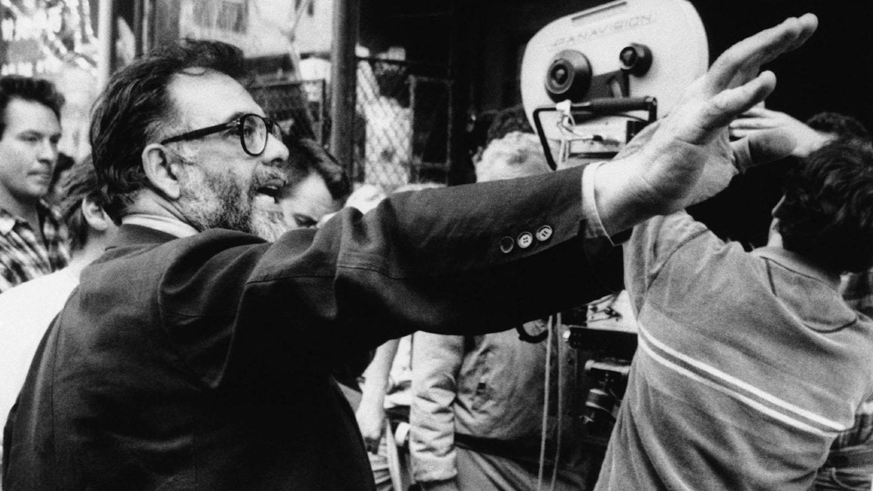 El director Francis Ford Coppola en el set de «El padrino» (Paramount Pictures)