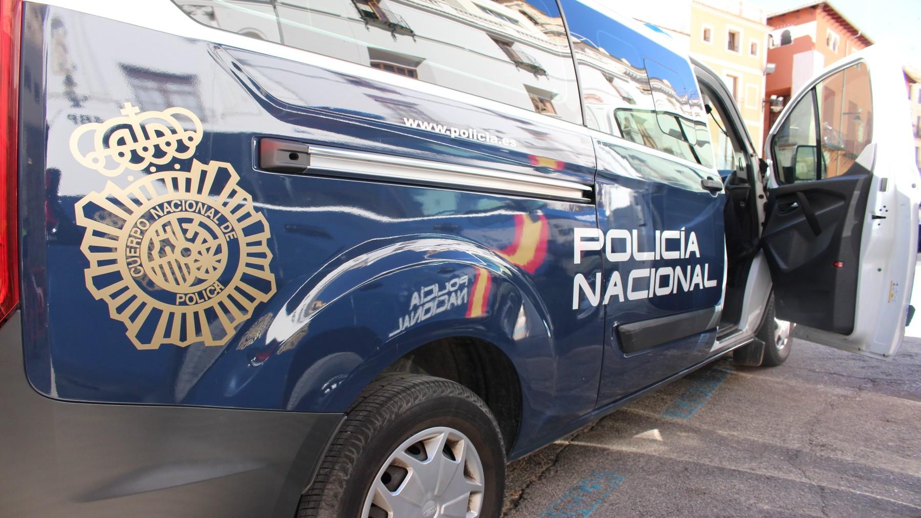 Coche patrulla de la Policía Nacional (CNP). (1)
