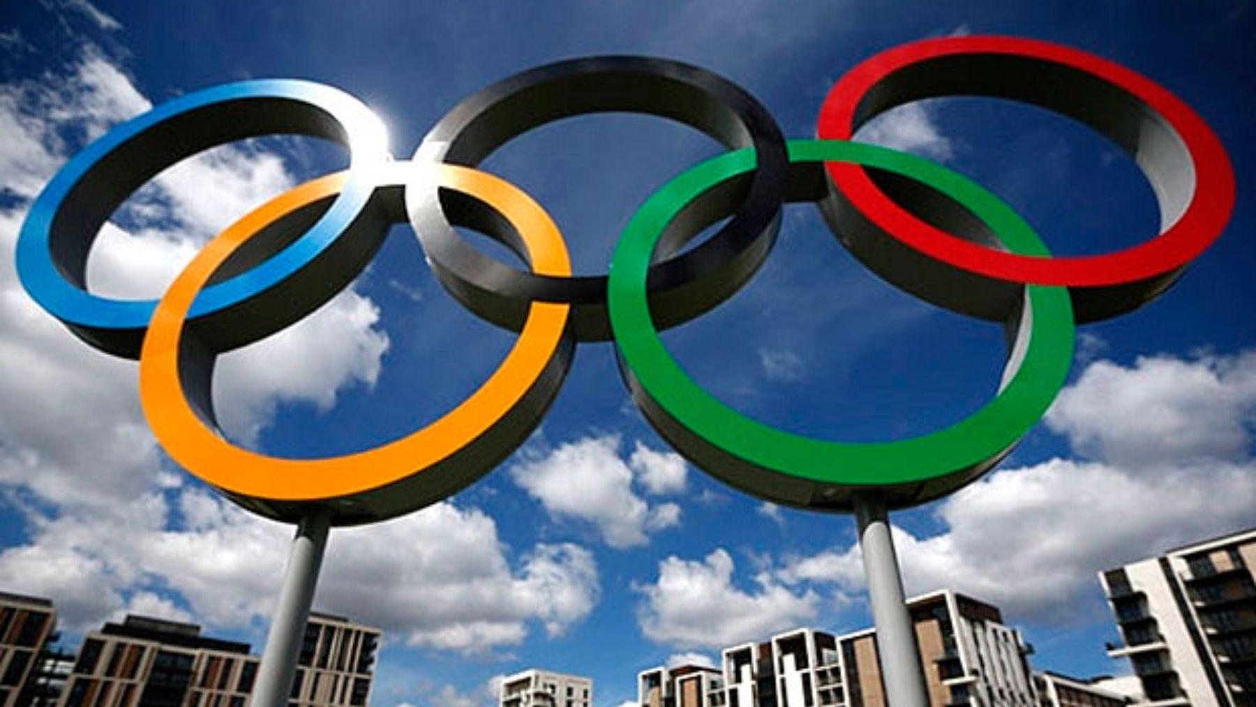 Los aros de los Juegos Olímpicos