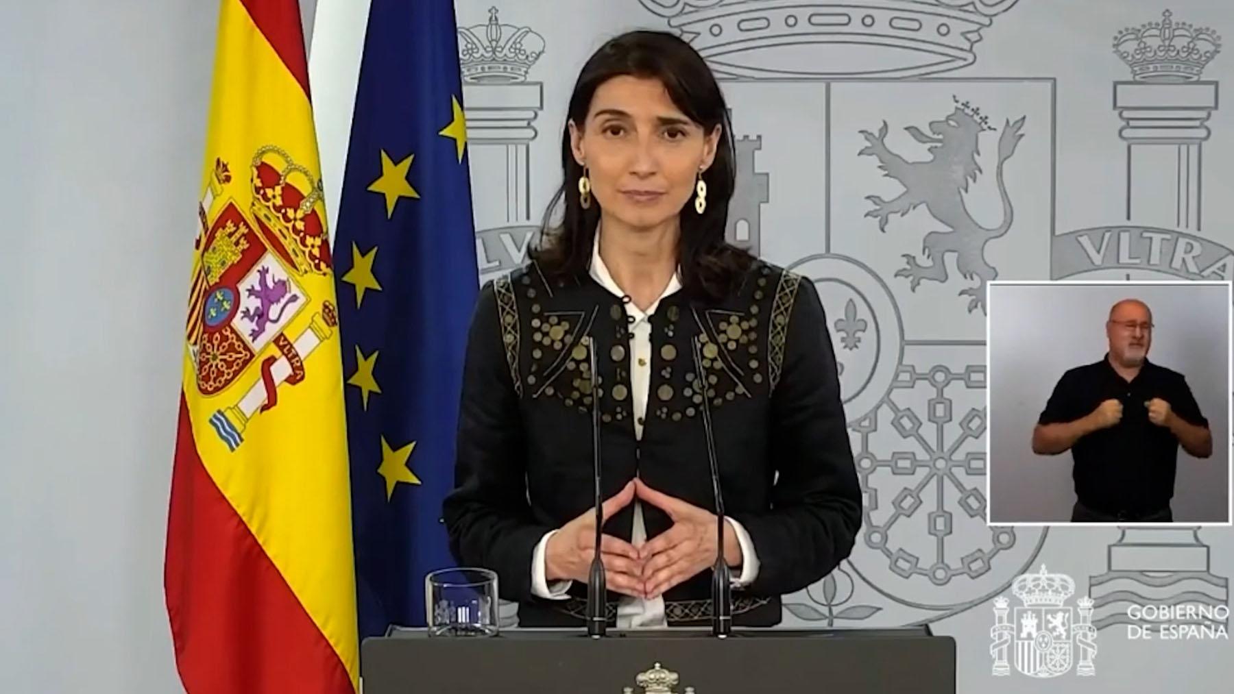 La nueva ministra de Justicia Pilar Llop