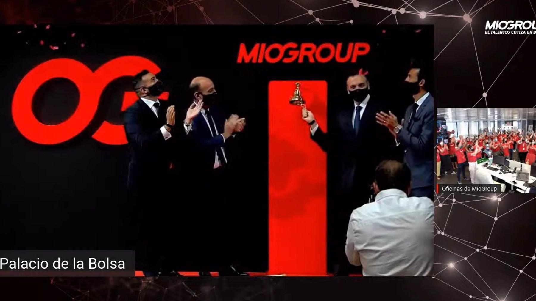Salida a Bolsa de Miogroup.