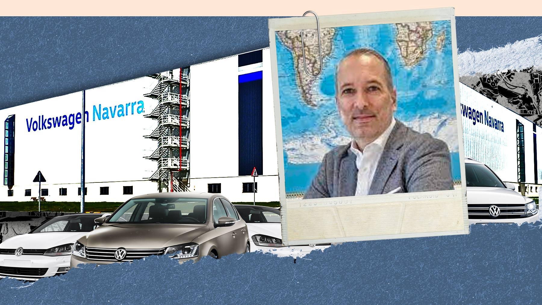 Markus Haupt, próximo presidente de Volkswagen Navarra