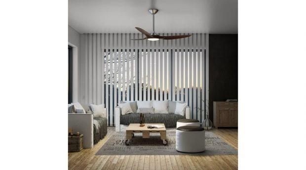 Ventilador de techo con luz INSPIRE Java