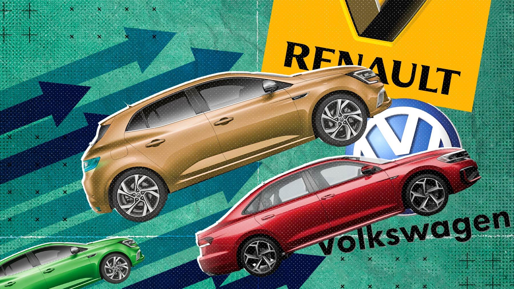 Volkswagen y Renault