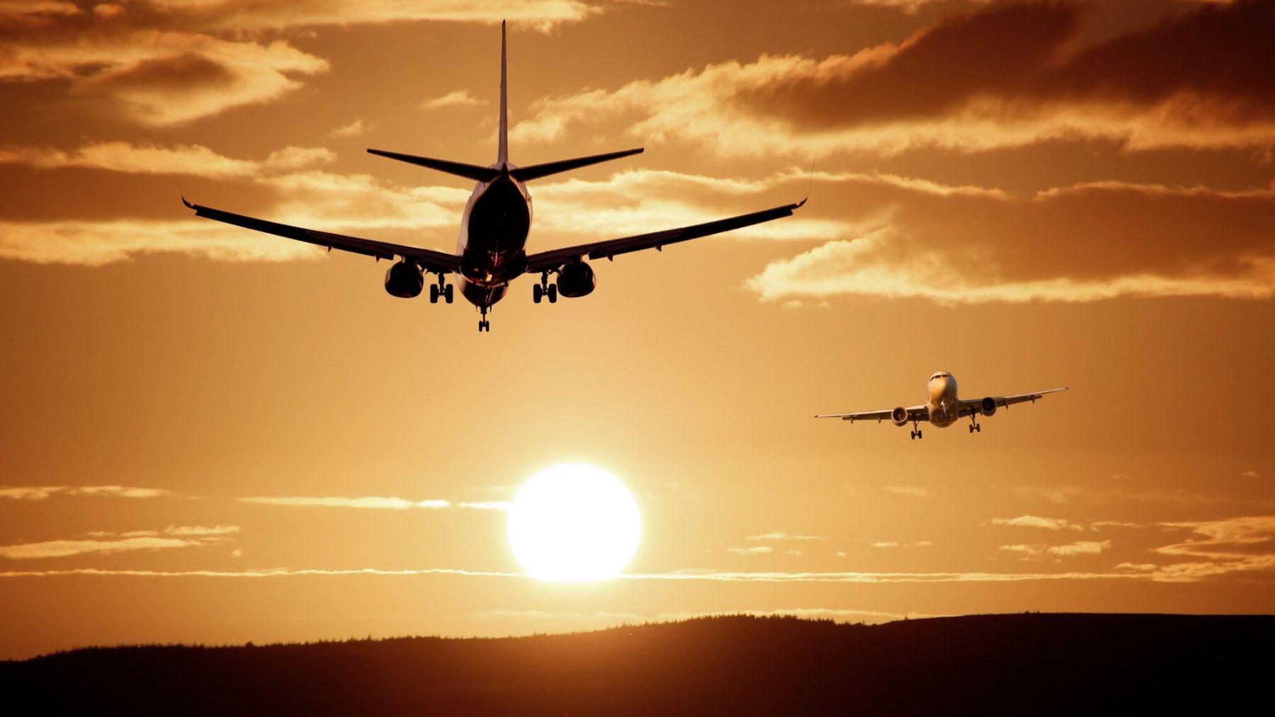 Viajar en avión a veces resulta algo extresante
