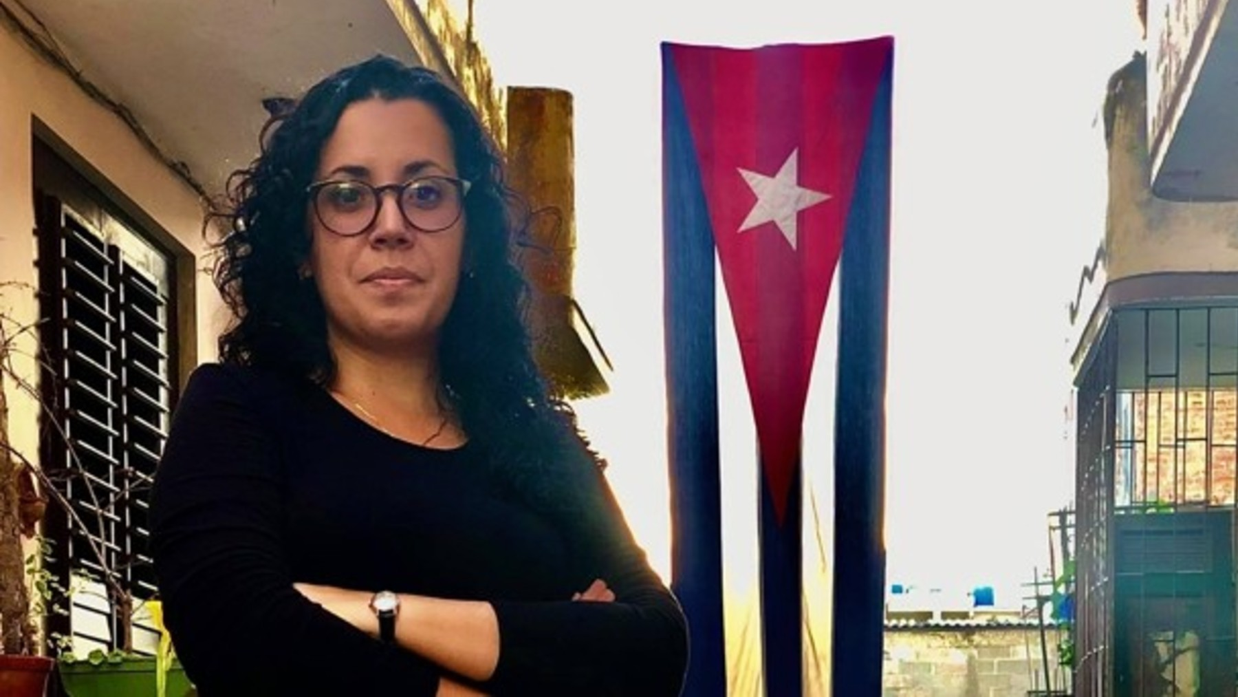La corresponsal de ABC detenida por el régimen de Cuba, Camila Acosta.