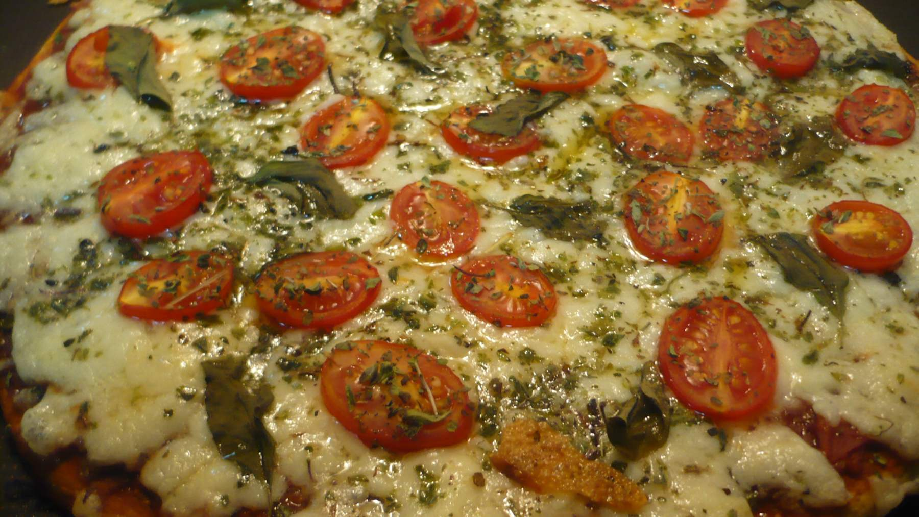 Pizza romana picante