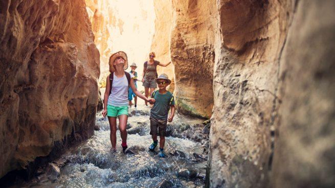 vacaciones baratas con niños
