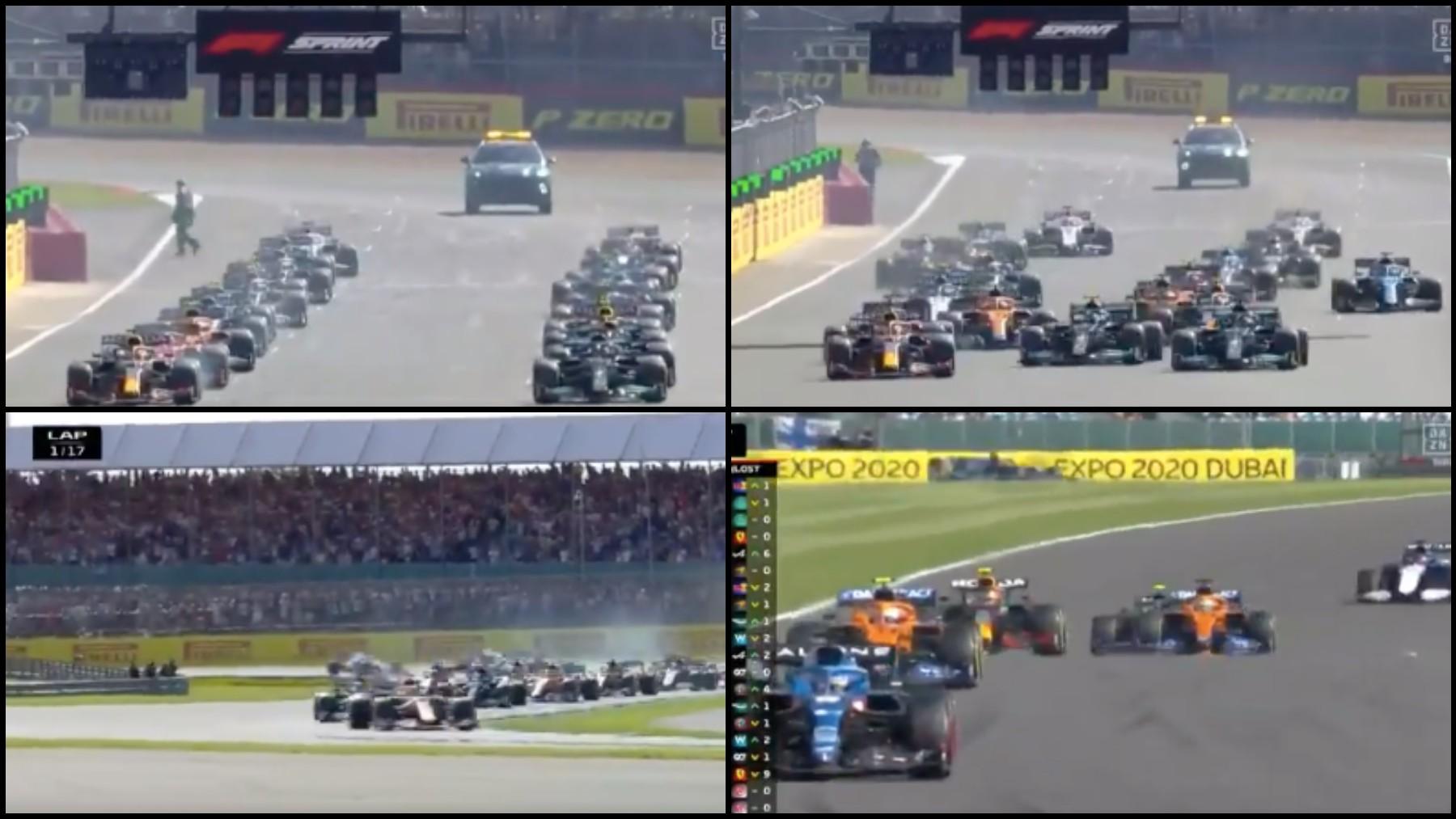 Alonso salida.