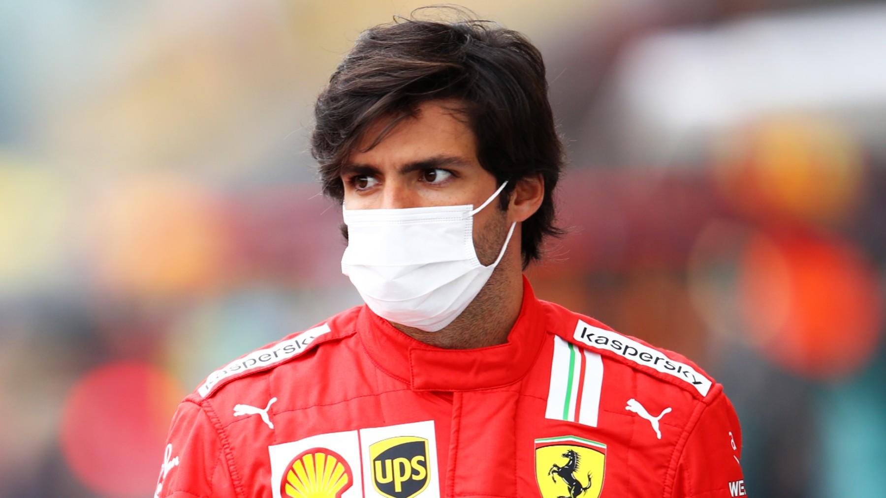 Carlos Sainz, en el GP de Gran Bretaña. (Getty)