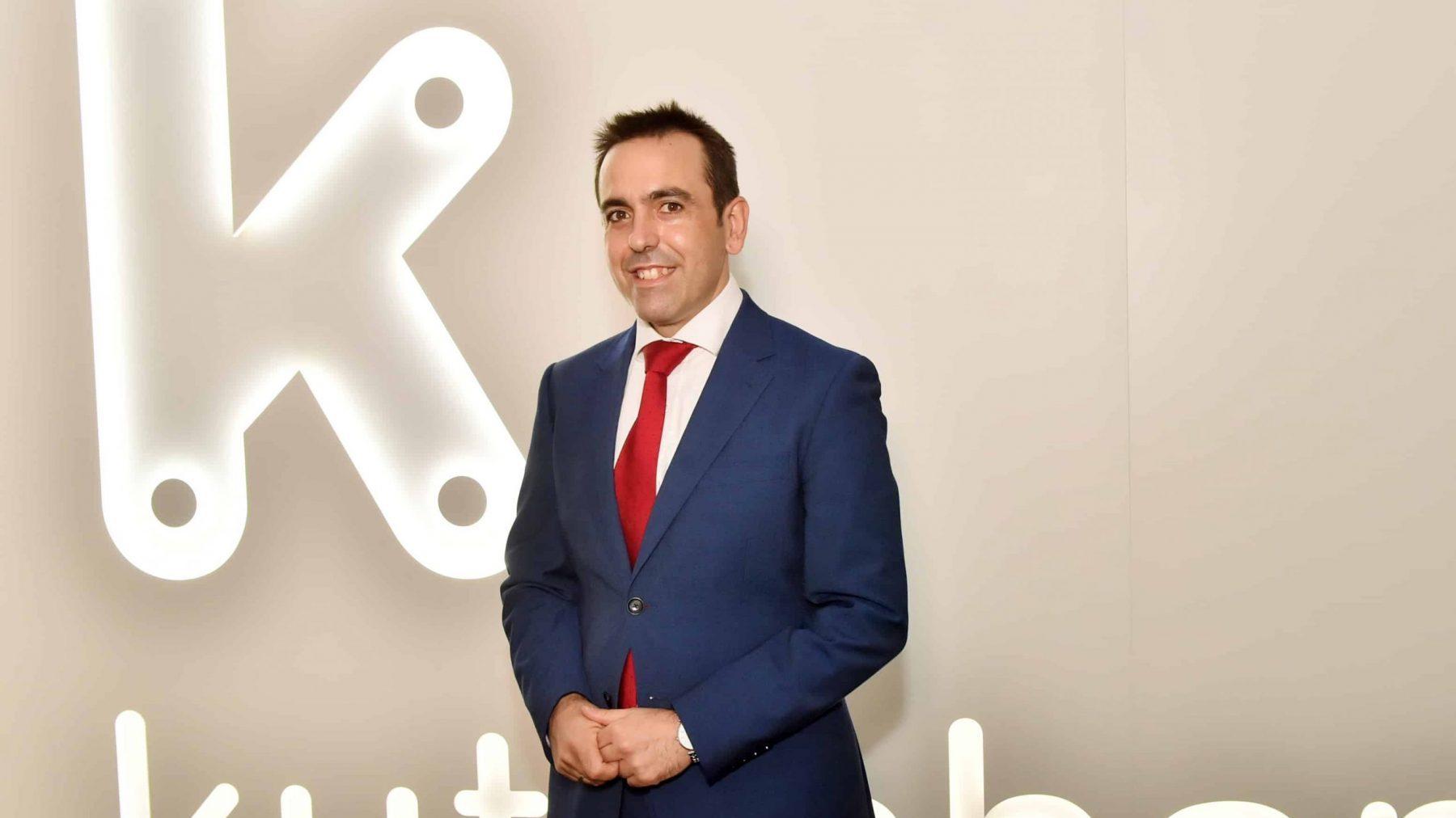 Iker Arteagabeitia como nuevo director financiero de Kutxabank