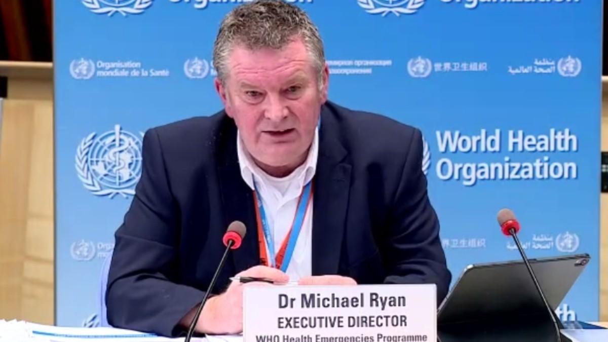 El director de Emergencia de la OMS, Mike Ryan.