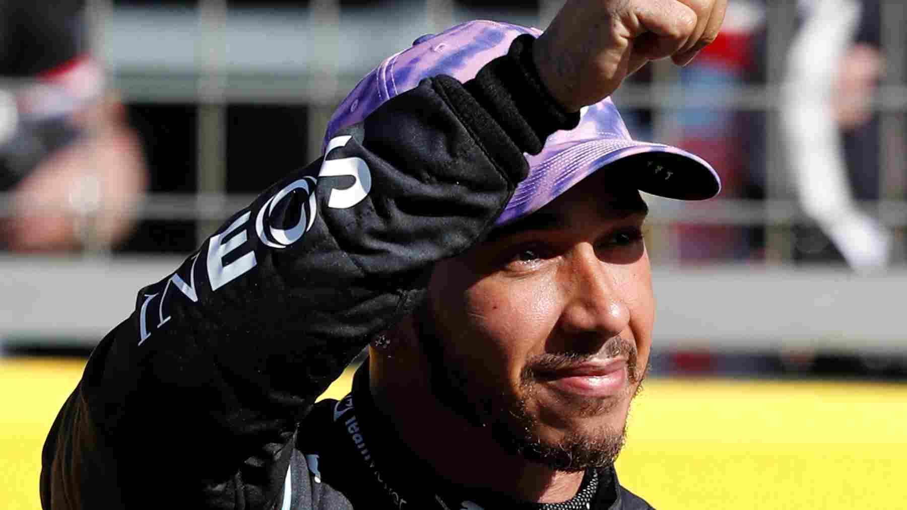 Lewis Hamilton gana el Gran Premio de Gran Bretaña de Fórmula 1. (AFP)