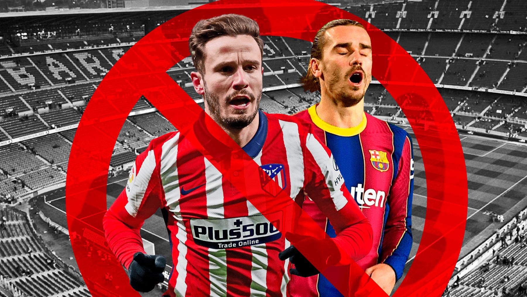 El Barça no quiere a Saúl por Griezmann.