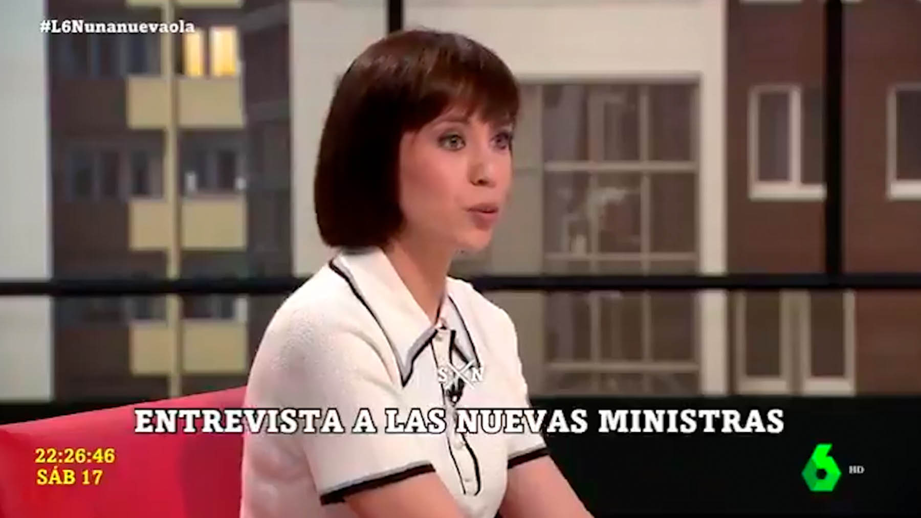 La ministra, Diana Morant.
