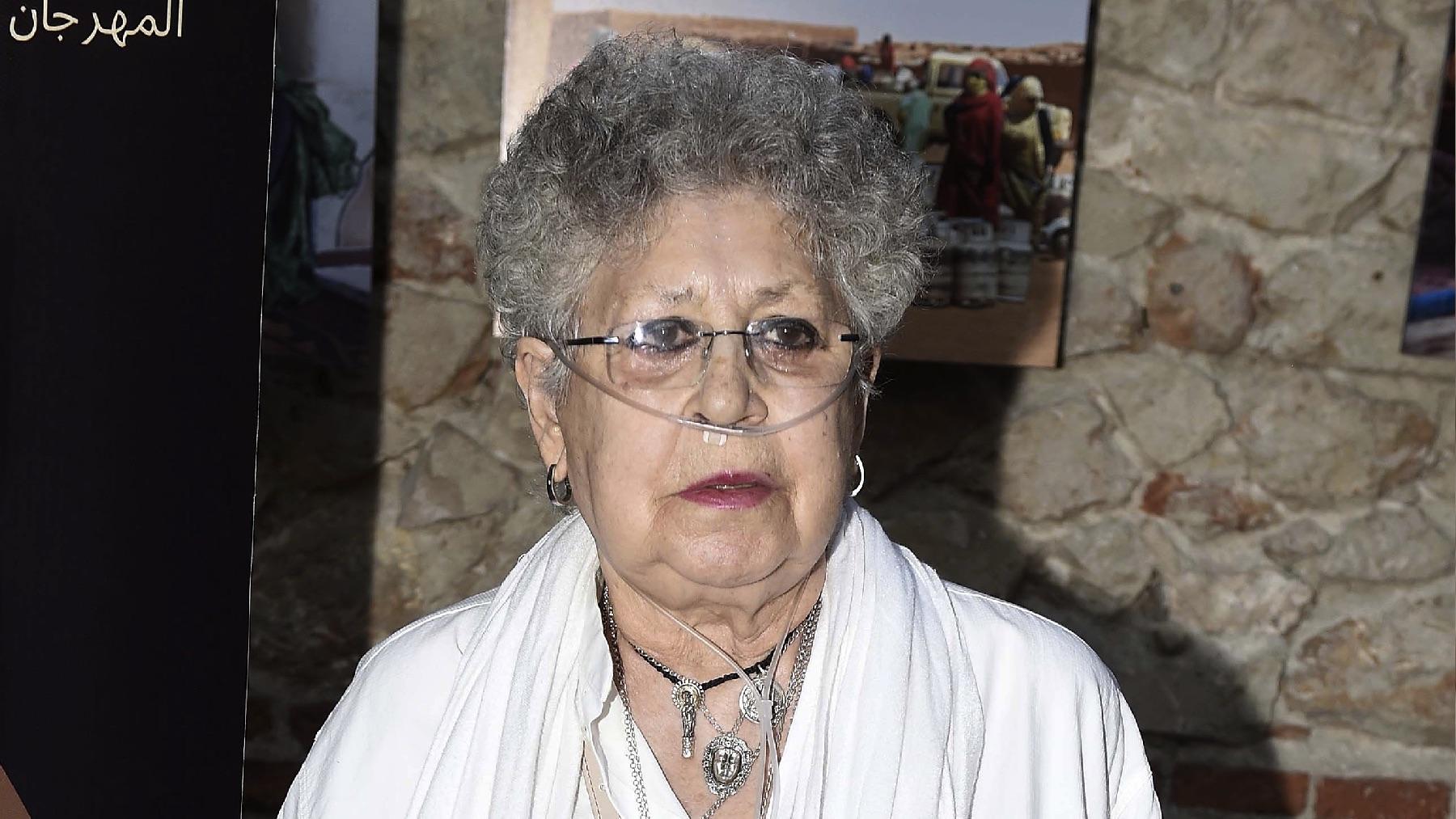Pilar Bardem en una de sus últimas apariciones públicas, en 2017.