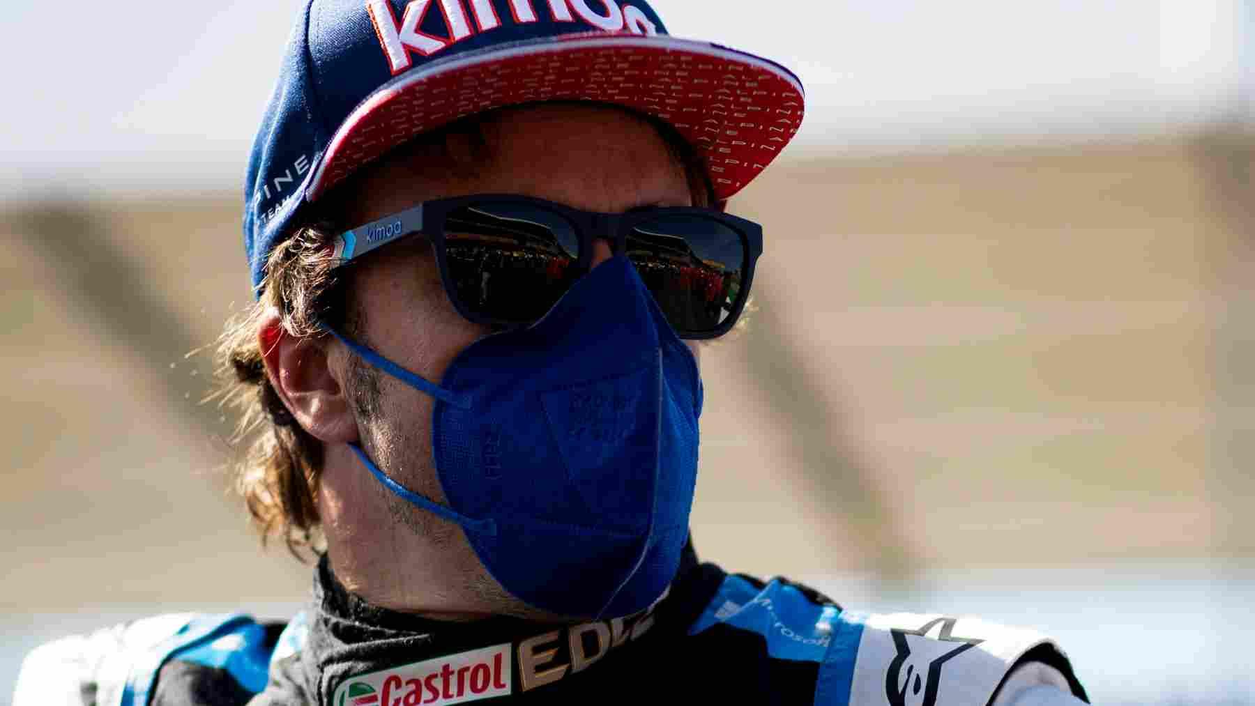 Fernando Alonso, piloto de Alpine. (@AlpineF1Team)