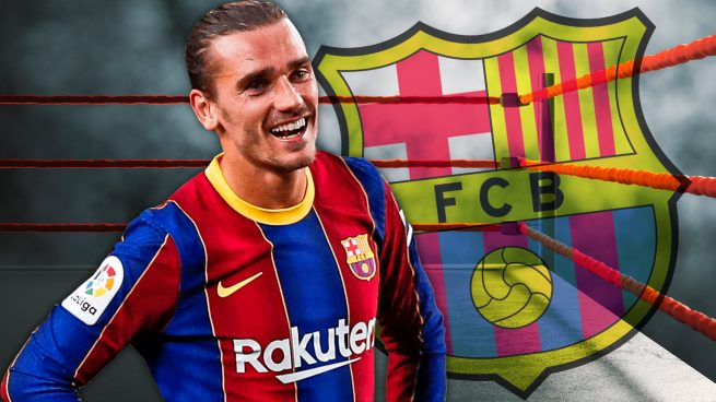 El Barça, contra las cuerdas con Griezmann