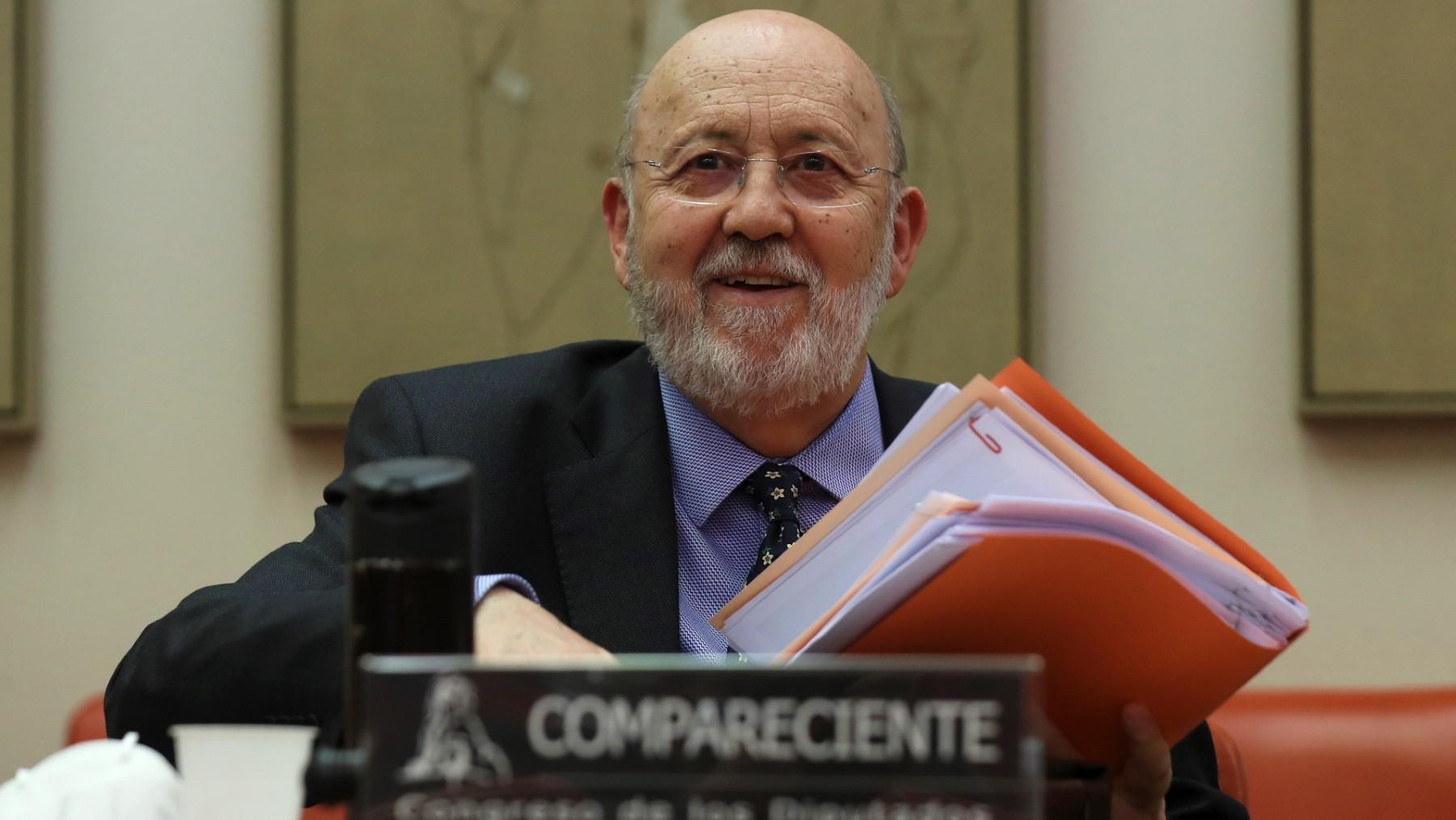 El presidente del CIS, José Félix Tezanos. (Foto: Europa Press)
