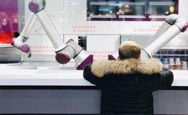 La pizzería con robots que sirve 80 pizzas por hora