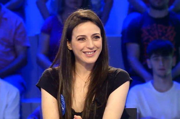 Ruth Núñez lucía una gran melena en una de sus últimas apariciones en Pasapalabra, cuando todavía se emitía en Telecinco