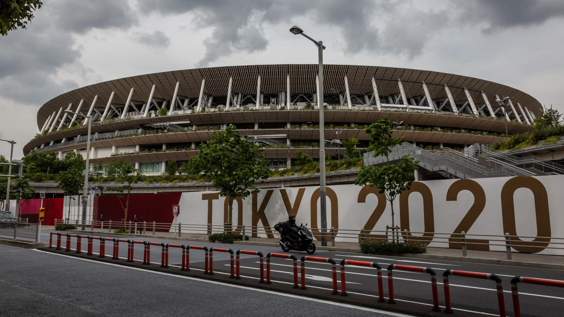 El Estadio Olímpico de Tokio, donde se celebrarán los Juegos Olímpicos de 2020 (Getty).