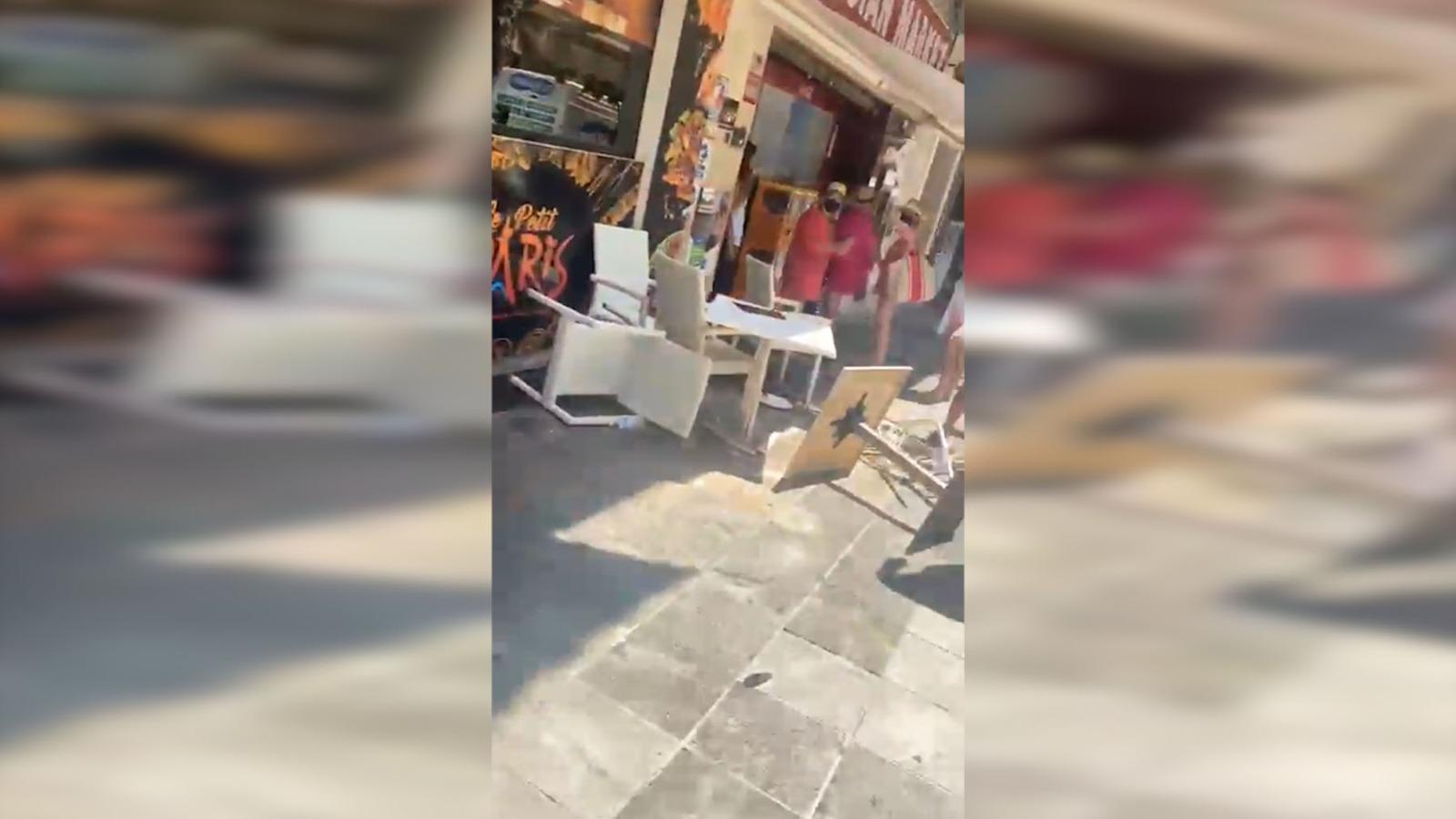 Este es el vídeo que muestra las consecuencias del atropello múltiple en Marbella.