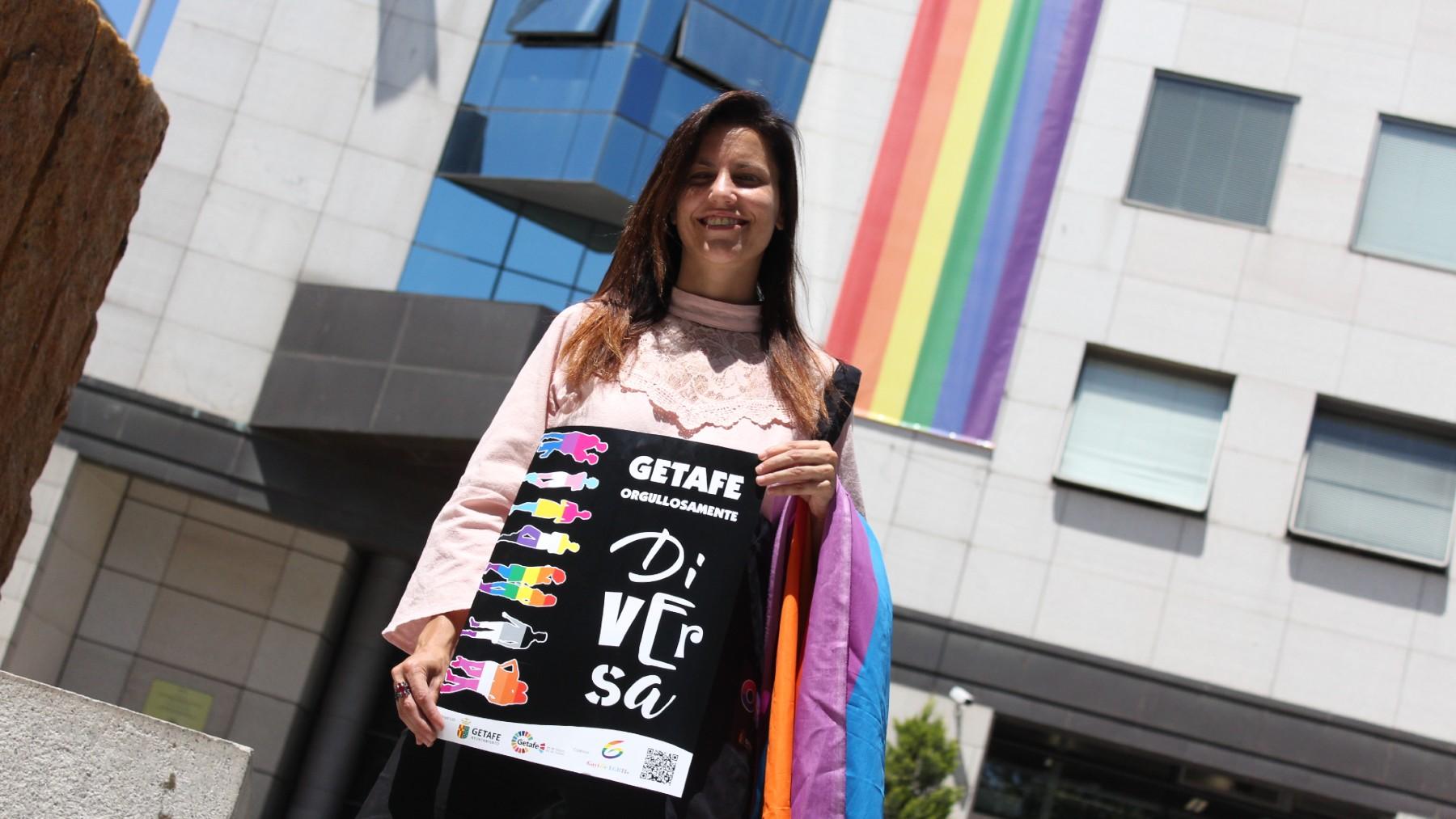 Alba Leo es una concejal de Podemos en Getafe.
