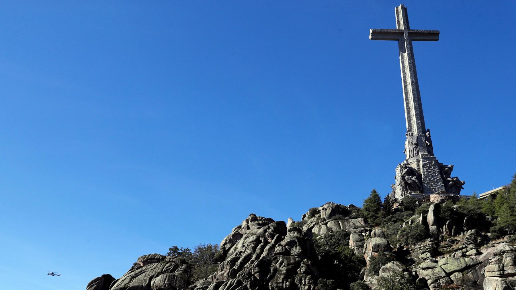 La Cruz del Valle de los Caídos. (Foto: Europa Press)
