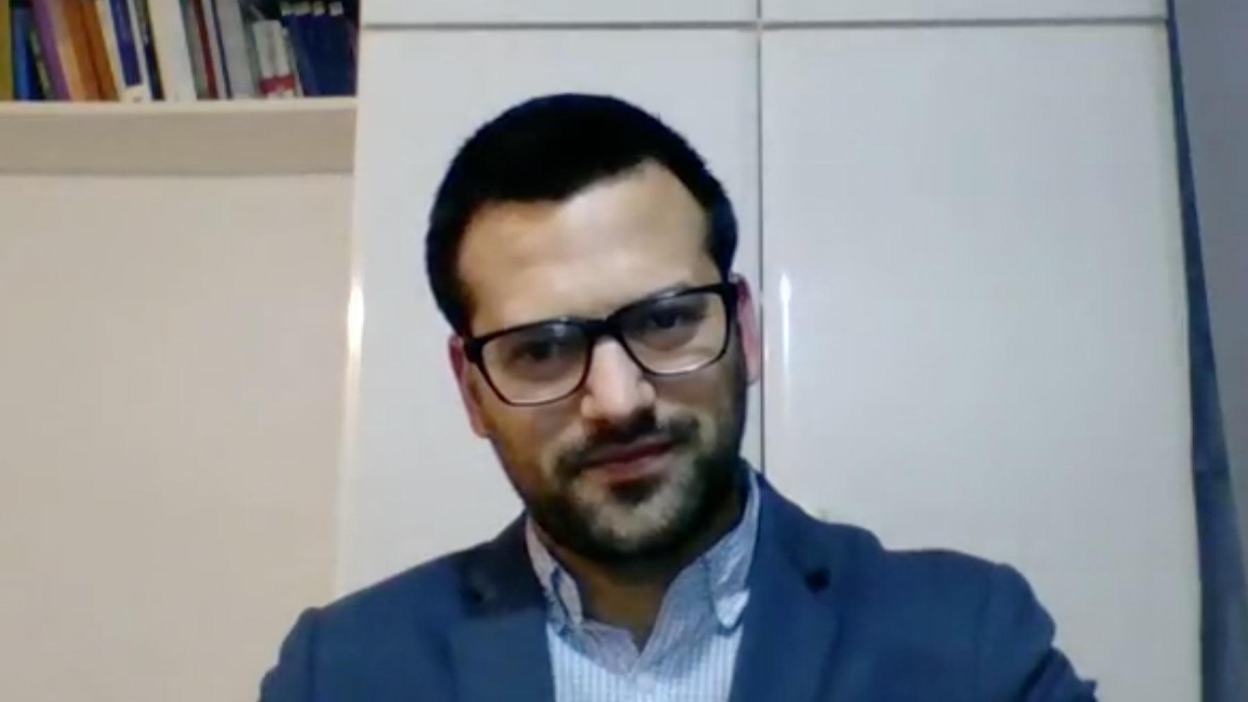 El ajedrecista Arián González.