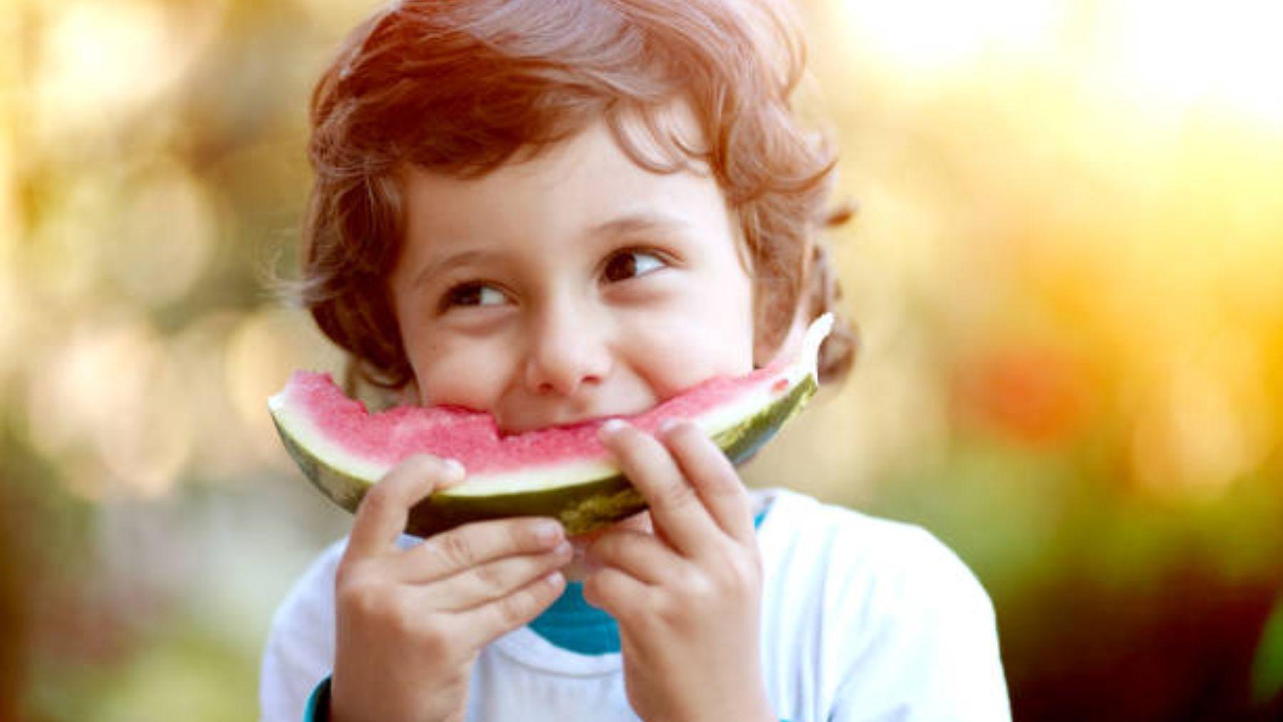 Las mejores y más sencillas meriendas para los niños en verano
