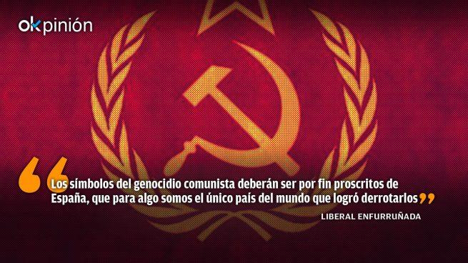 Contra la desmemoria histórica, prohibir la exaltación del comunismo
