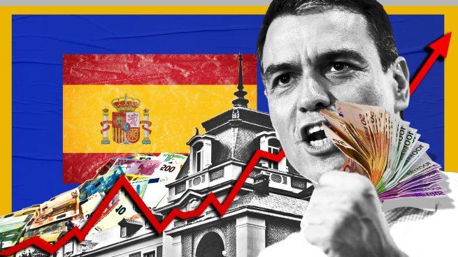 Sánchez dispara un 20% la deuda pública desde que llegó a Moncloa y ya debe 234.028 millones más