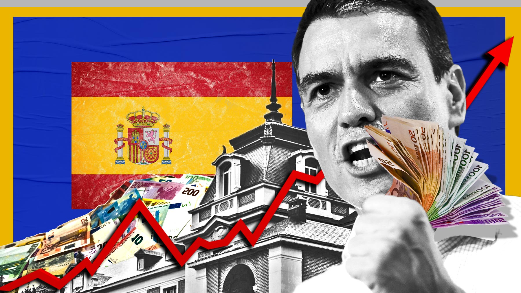 Deuda pública en España.