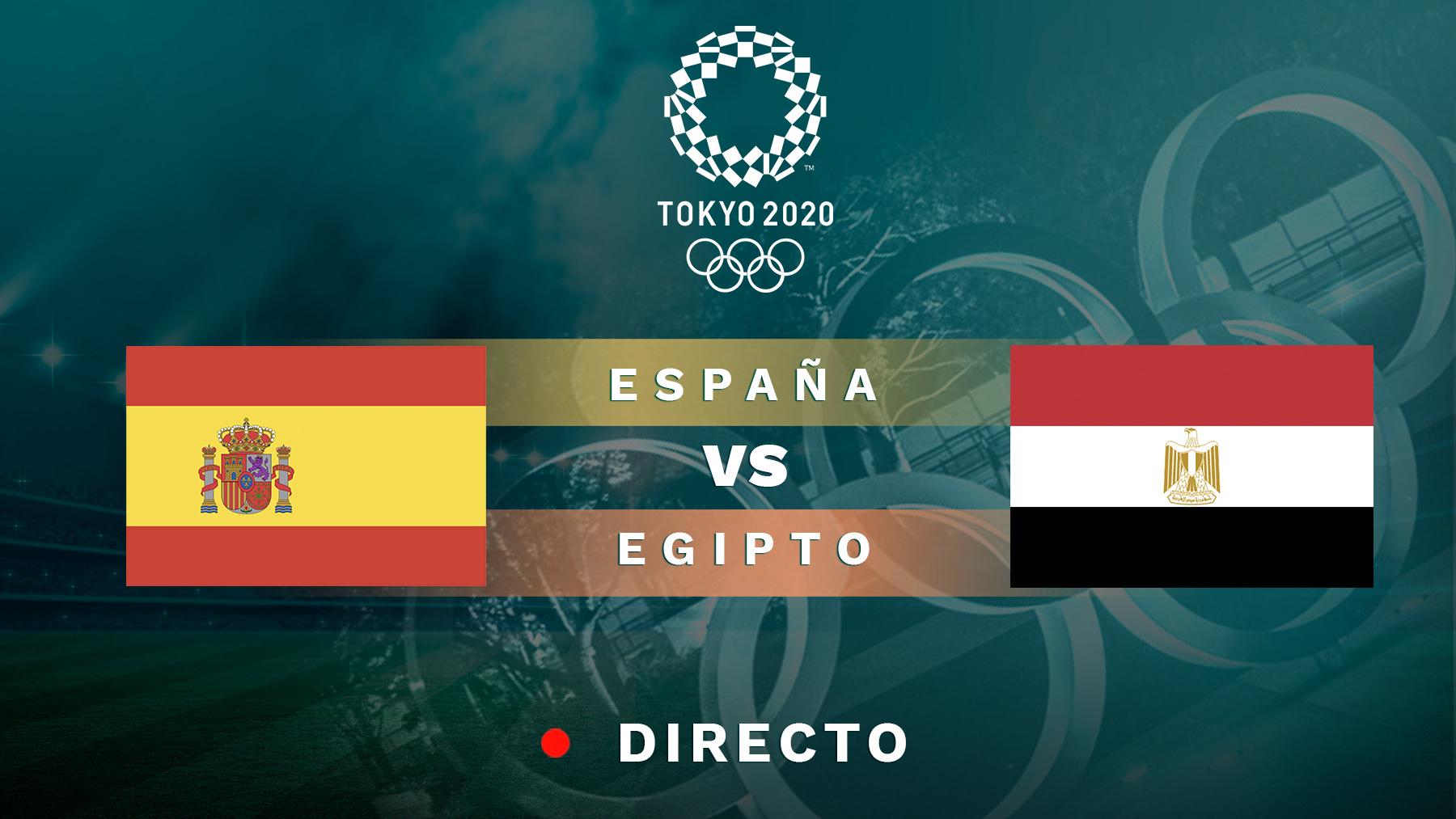 España – Egipto hoy en directo: Partido de los Juegos Olímpicos